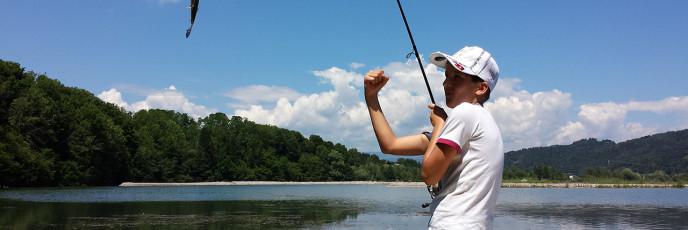So schnell kann es gehen, wenn man sich in den Fisch hineinversetzen kann.